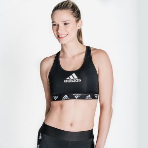 Don't Rest Alphaskin Padded Badge of Sport Bra