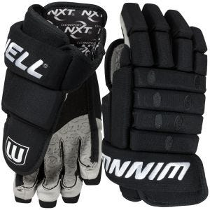 Classic 4-Roll Knit Hockey Gloves