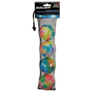Balle Hockey-Multicolored-4 Pack