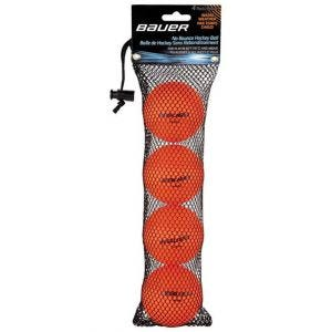 Balle Hockey-Warm-Orange-4 Pack