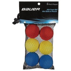 Balles Mini Foam - 6-Pack