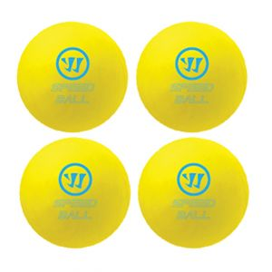 Warrior Mini Hockey SpeedBall 4pk